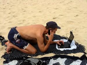 social-media-op-vakantie